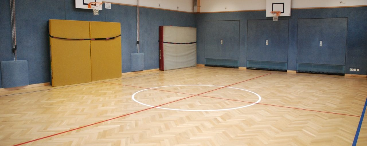 Sportunterricht im November