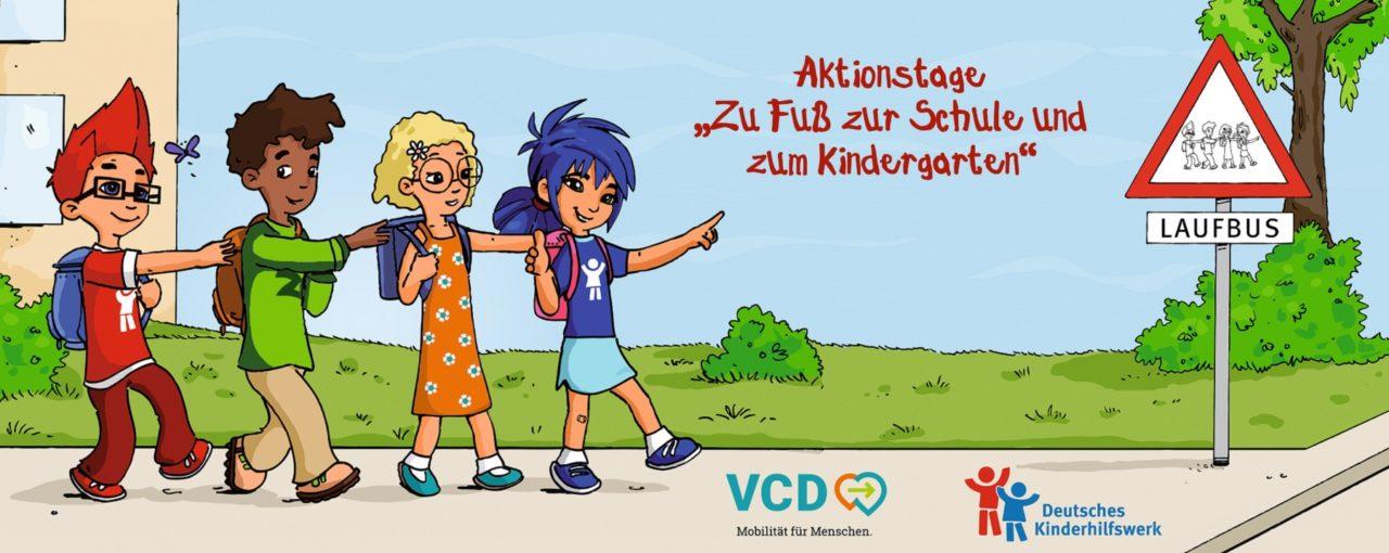 """Aktionswoche """"Zu Fuß zur Schule"""""""