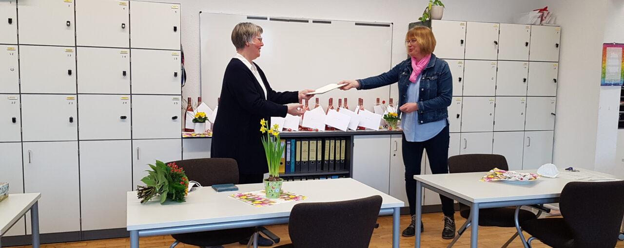 Auf Wiedersehen Frau Bröker-Heise!
